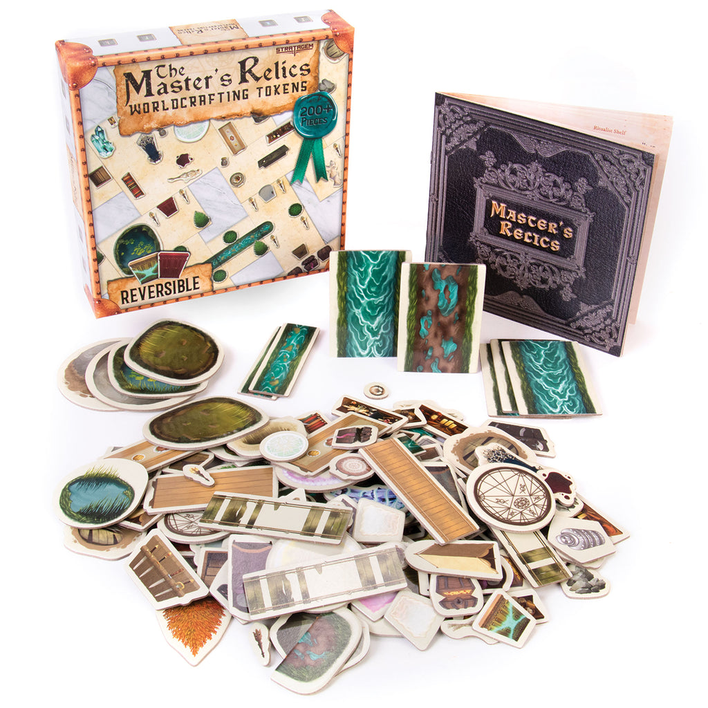 Accessories RPG: Master's Relics - Worldcrafting Tokens (200+ pieces)