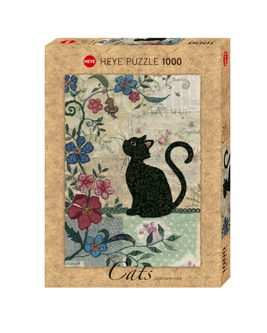Jigsaw Puzzle: HEYE - Cat & Mouse (1000 Pieces)