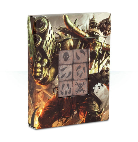 WH 40K: Orks Dice Set