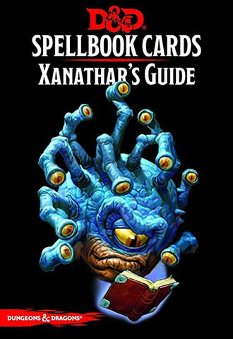 D&D RPG: Spellbook Cards: Xanathar's Guide to Everything