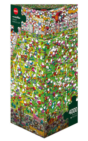 Jigsaw Puzzle: HEYE - Crazy World Cup (4000 Pieces)