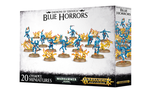 Warhammer Age of Sigmar: Daemons Of Tzeentch - Blue Horrors