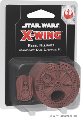 Star Wars - X-Wing 2nd Ed: Rebel Alliance Maneuver Dial