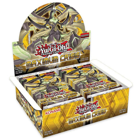 Yu-Gi-Oh! TCG: Maximum Crisis Booster (24x Display)