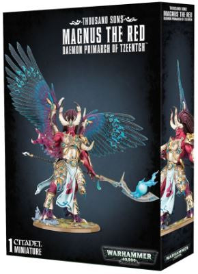 WH 40K: Thousand Sons - Magnus the Red