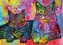 Jigsaw Puzzle: HEYE - Devoted 2 Cats (1000 Pieces)