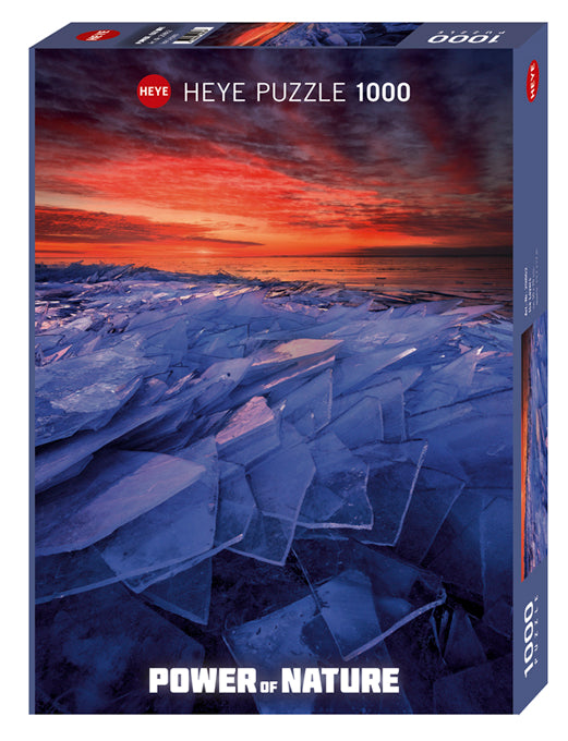 Jigsaw Puzzle: HEYE - Ice Layers (1000 Pieces)