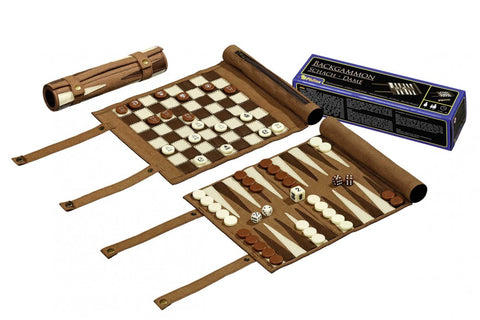 Chess, Backgammon, Checkers Set (Travel)