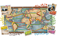 Ticket to Ride: Rails & Sails - Boardgame Space - 3