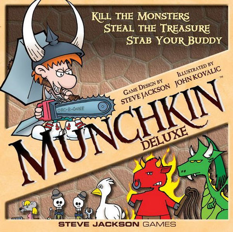 Munchkin: Deluxe Edition