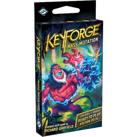 KeyForge: Mass Mutation - Archon Deck (Display) (x12 Decks)