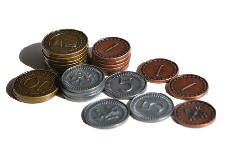 Clans of Caledonia - Metal Coins