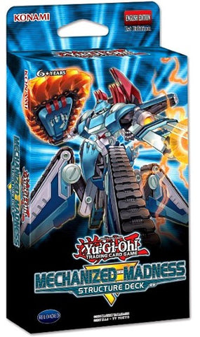 Yu-Gi-Oh! TCG: Structure Deck -  Mechanized Madness (8x Display)