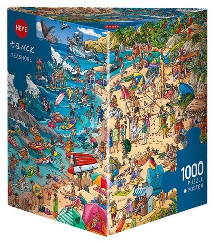 Jigsaw Puzzle: HEYE - Tanck Seashore (1000 Pieces)