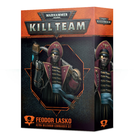 Warhammer 40K: Kill Team - Commander Feodor Lasko