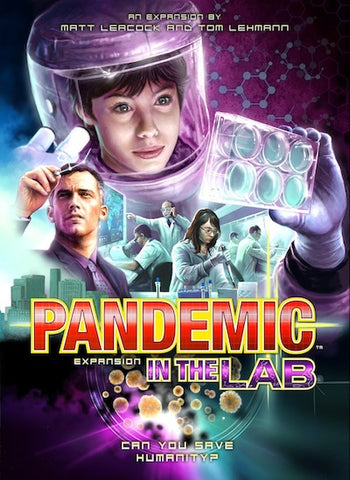 Pandemic: Exp 02 - In the Lab