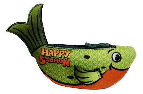 Happy Salmon: Green Fish