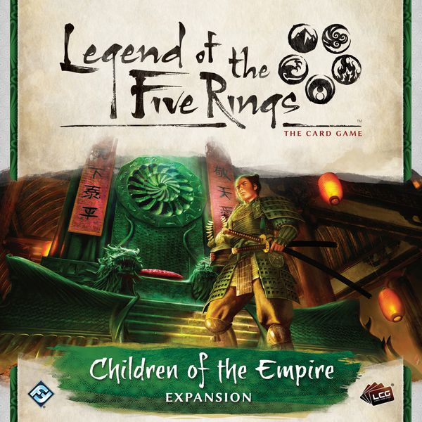 L5R LCG: Expansion 15 - Children of the Empire Premium Expansion
