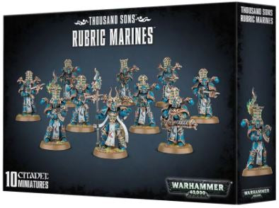 WH 40K: Thousand Sons - Rubric Marines