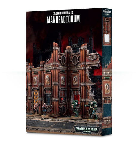 Warhammer 40k: Sector Imperialis - Manufactorum