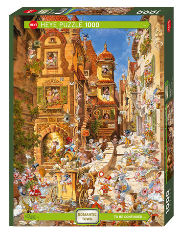 Jigsaw Puzzle: HEYE - Ryba Town By Day (1000 Pieces)