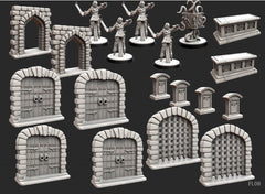 Folklore: The Affliction - Terrain (Miniatures pack)