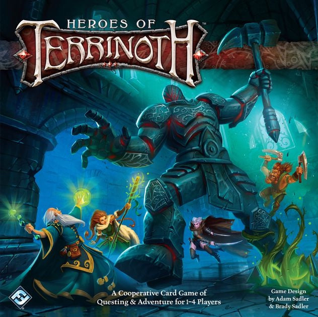 Heroes of Terrinoth: The Adventure Card Game