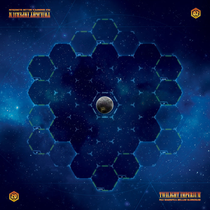 Twilight Imperium (4th Ed) - Galaxy Gamemat