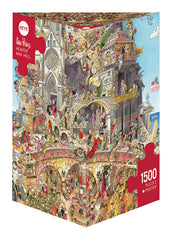 Jigsaw Puzzle: HEYE - Prades Heaven and Hell (1000 Pieces)