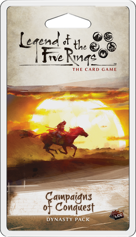 L5R LCG: Expansion 32 - Campaigns of Conquest