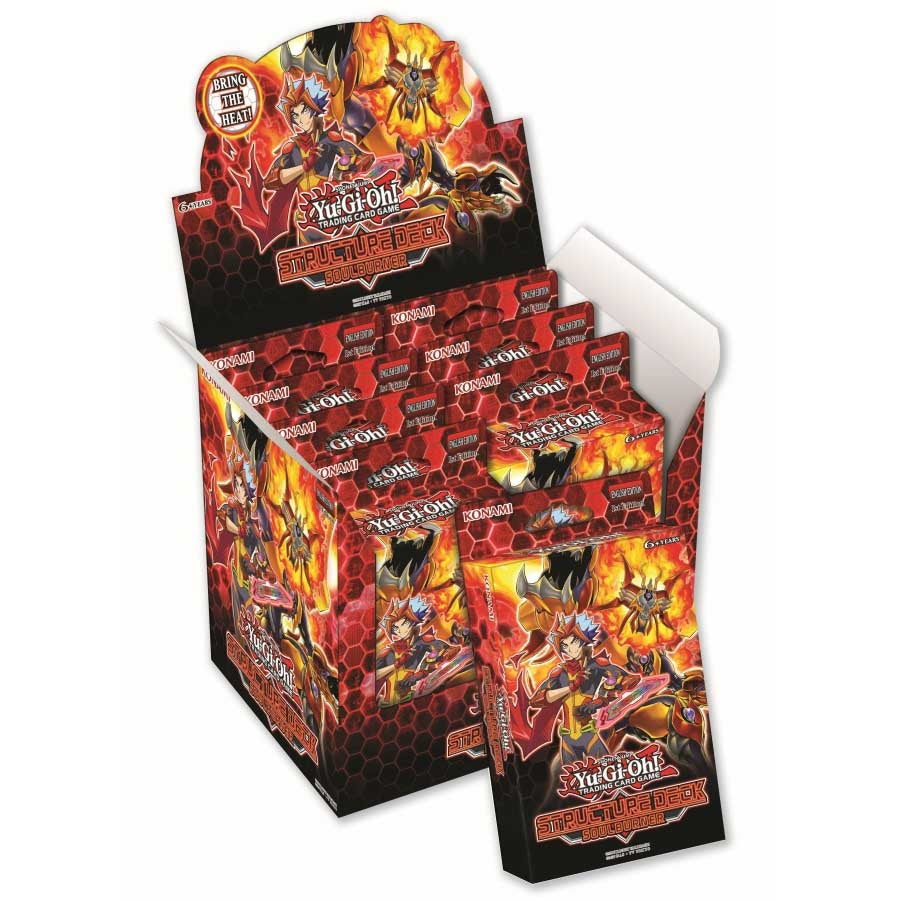 Yu-Gi-Oh! TCG: Structure Deck - Soulburner (8x Display)