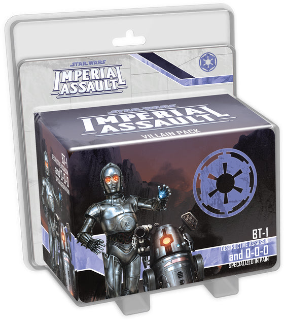 Star Wars: Imperial Assault - BT-1 and 0-0-0 (Villain)