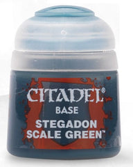 Citadel: Base - Stegadon Scale Green