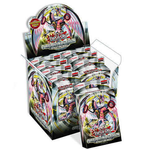Yu-Gi-Oh! TCG: Structure Deck - Cyber Dragon Revolution (8x Display)