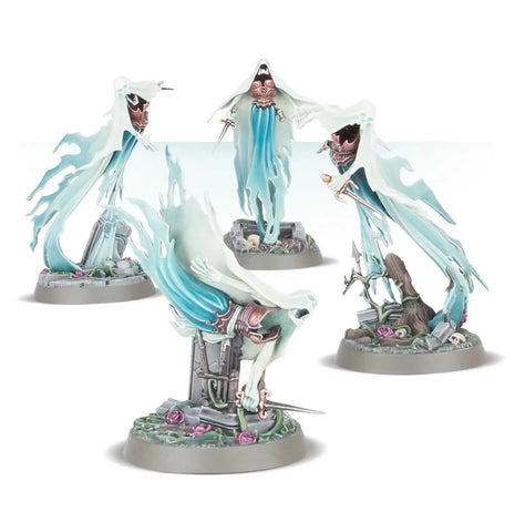 WH AoS: Nighthaunt - Myrmourn Banshees (Easy to Build)