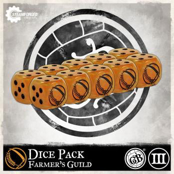 Guild Ball: Farmer's Guild - Dice Pack