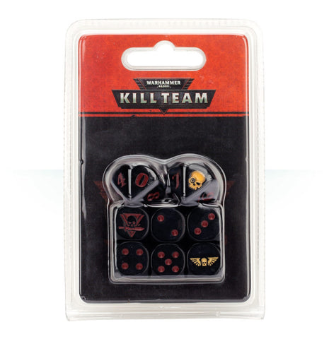 WH 40K: Kill Team - Astra Militarum Dice Set