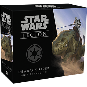 Star Wars: Legion - Galactic Empire - Dewback Rider