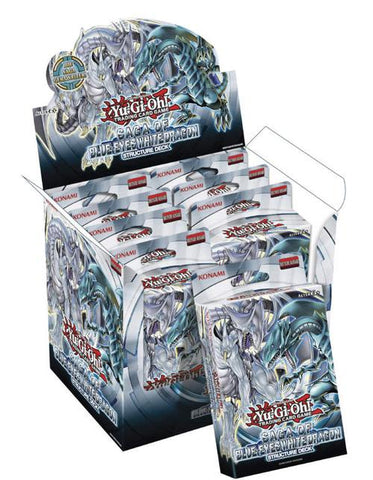 Yu-Gi-Oh! TCG: Structure Deck - Saga of the Blue Eyes White Dragon (8x Display)