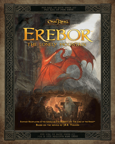 The One Ring RPG: Erebor – The Lonely Mountain