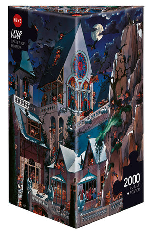 Jigsaw Puzzle: HEYE - Castle of Horror (2000 Pieces)