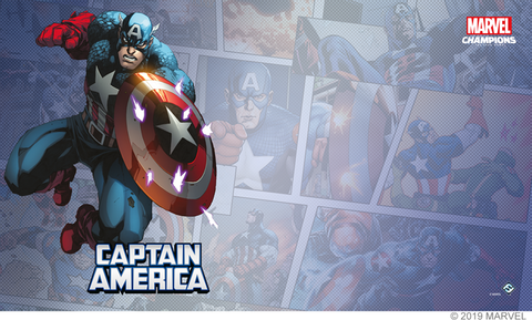 Marvel LCG - Playmat - Captain America