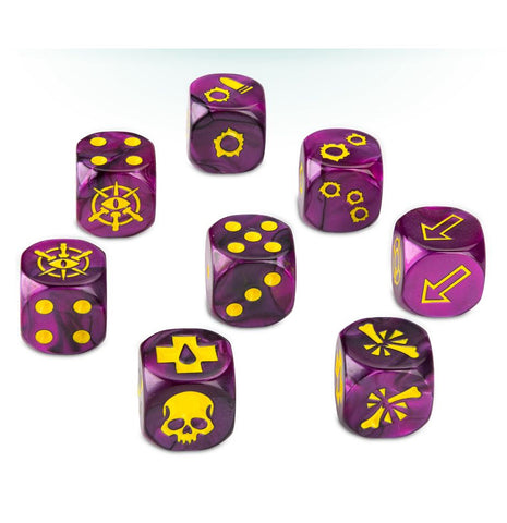 Necromunda - Escher Gang Dice Set