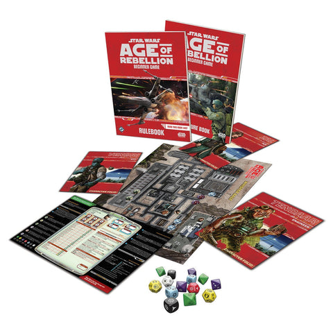 Star Wars: Age of Rebellion RPG - Beginner Game