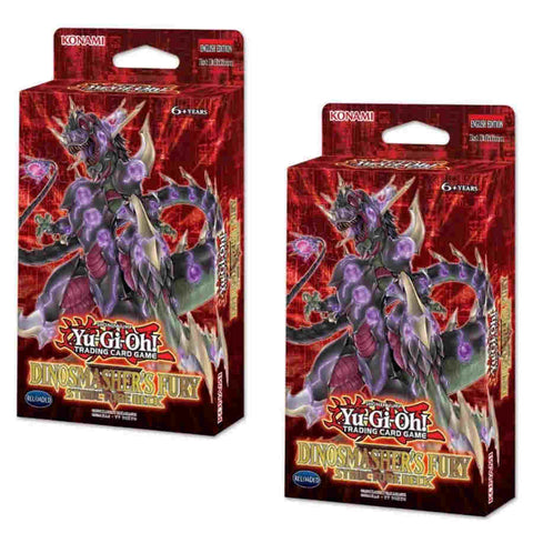 Yu-Gi-Oh! TCG: Structure Deck - Dinosmasher's Fury  (8x Display)