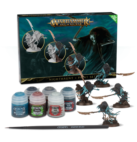 WH AoS: Nighthaunt + Paint Set