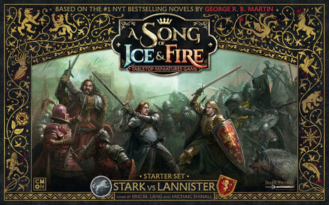 A Song of Ice and Fire: Stark vs Lannister - (Starter Set)