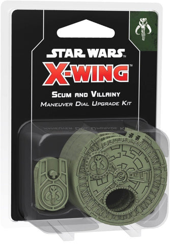 Star Wars: X-Wing (2nd Ed) - Accessories - Maneuver Dial - Scum & Villainy