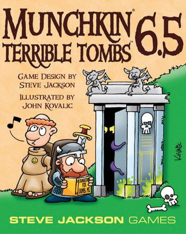 Munchkin: Vol 06.5 - Terrible Tombs