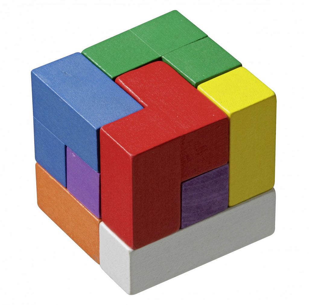 Puzzle: Philos - Cube - Soma, Coloured